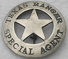 Badge_Texas_Ranger_Special_Agent_Front