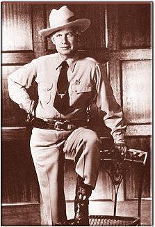 """""""Lonewolf"""" Gonzaullas, Texas Ranger"""