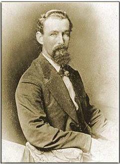 Leander McNelly, Texas Ranger, circa 1875.