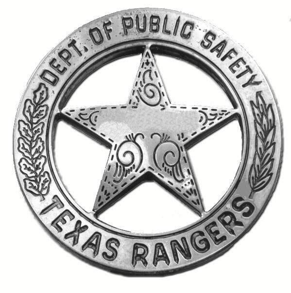 Image result for texas ranger badge