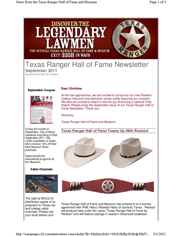 b6676b53a Sep11_Resistol_DiscoveringLegend_Telly_html - Texas Ranger Hall of ...