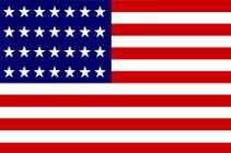 28-Star U.S. Flag