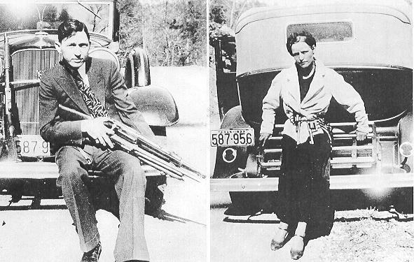 Clyde Barrow & Bonnie Parker