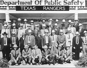 Texas Rangers at DPS Headquarters, 1938