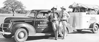 Rangers and DPS Horse Trailer