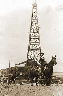 Ranger in the Oil Fields