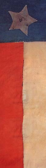 San Jacinto Battle Flag Courtesy Star of the Republic Museum
