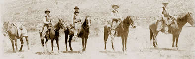 Unidentified Texas Rangers on Patrol