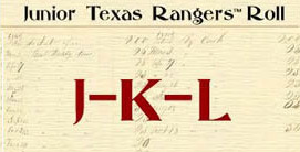 Junior Ranger JKL with antique listing background