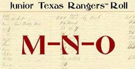 Junior Ranger MNO with antique listing background