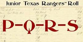 Junior Ranger PQRS with antique listing background