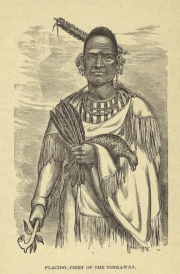 Chief Placido of the Tonkawa