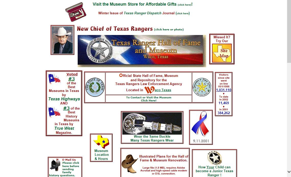 2002 TRHFM Website