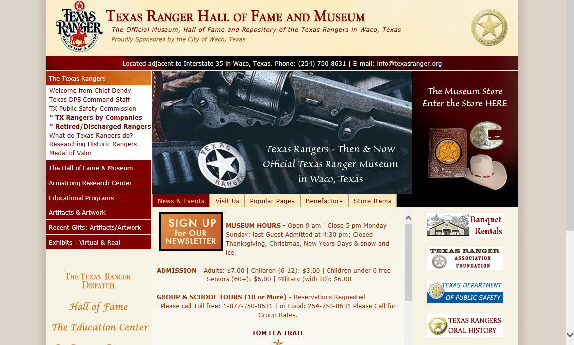 2014 TRHFM Website