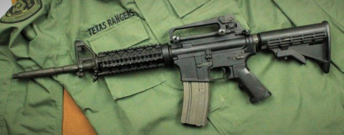 Bushmaster M4 - Texas Ranger Hall of Fame and Museum