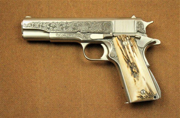 Firearms-Colt Super38
