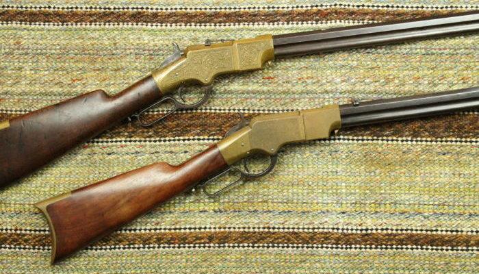 Firearms-Henry rifle