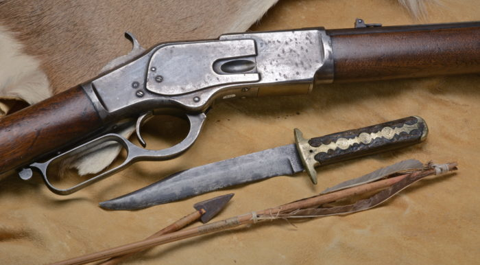 Winchester 1873 Gillett - Texas Ranger Hall of Fame and Museum