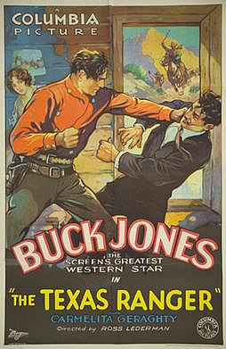 Buck Jones Texas Ranger