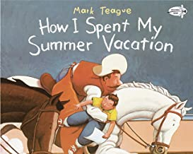 cover art featuring kid and cowboy on white horse
