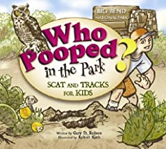 cover art for Who Pooped with owl and Big Bend landscape