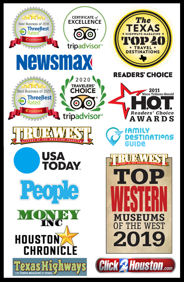 collage of publication logos